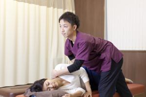骨盤の施術